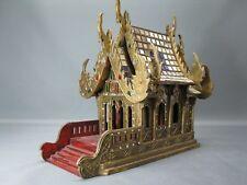 Großes Geisterhaus Schrein Altar Buddha Tempel aus Thailand 45 cm Feng Shui