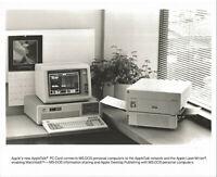 "ITHistory (198X) APPLE Press Photo:  ""AppleTalk PC Card"" (IBM PC) (Caption)"