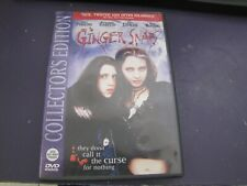 Ginger Snaps (DVD, 2003)-Horror-Rare & OOP
