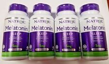 Natrol Melatonin Time Release 5mg Tablets 100ct -4 Pack - Exp. Date 05-2020