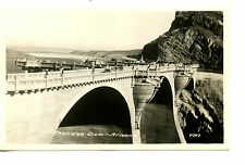 Coolidge Dam-Arizona Landscape-Structure View Vintage B/W Photograph