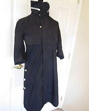 4Y's Yohji Yamamoto Comme Ladies Black Jacket high Neck Coat M USA 8/10