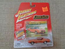 1971 PONTIAC GTO JOHNNY LIGHTNING CLASSIC GOLD 2004 1/64