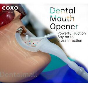 COXO 20Pcs Dental Mouth Opener Cheek Lip Retractor Suction Oral Droplets Aerosol
