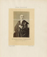 Photo DÉPUTÉ de SEINE-INFÉRIEURE 1864 -Pierre Alexis CORNEILLE - Albumine 6x10cm