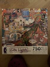 Ceaco 750 piece PUZZLE, City Lights (Las Vegas Gold II) Brand New Sealed
