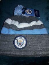 Manchester City england Premier soccer football Beanie skull winter Hat cap  NEW