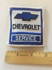Chevrolet Patch Embroidered , Vintage Rare Chevy Service Patch Awesome