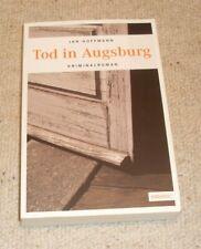 Jan Hoffmann - Tod in Augsburg - Kriminalroman Taschenbuch