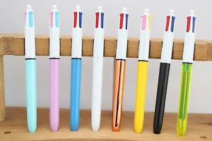 BIC 4 Colour Ballpoint Pen, 8 Designs Available, UK Seller