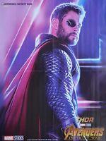 THE AVENGERS - A2 Poster (XL - 42 x 55 cm) - Thor Film Infinity War Clipping NEU