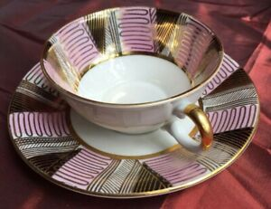 Vintage 1940's Winterling Bavaria Coffee/ Tea Cup with Saucer  - Mede In Germany