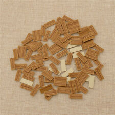 100pcs/set Handmade Labels Tags PU Leather DIY Making Craft Sewing Accessories