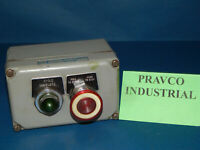 Square D 9001-KY-2 Control Station with Push Pull Button & Pilot Light 9001KY2