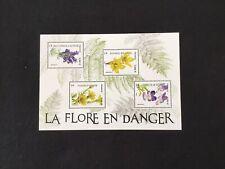 France  1 bloc feuillet 2019 La Flore En Danger