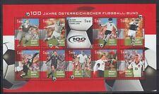 Österreich Austria 2004 ** Mi.2460/69 KB Fußball Football [sr621]