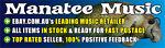 MANATEE MUSIC QUALITY DISCOUNT CDs
