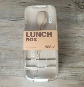 Three Tier Slim Plastic Stacking Lunch Snack Tote with Utensils
