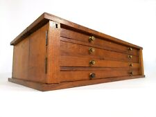 More details for antique specimen cabinet bank of drawers collectors chest
