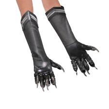 Marvels Captain America Civil War - Boys Black Panther Deluxe Gloves