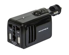 Monoprice 12V DC to AC 110V Car Auto Power Inverter Converter 2x USB