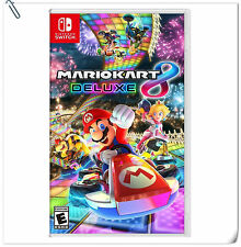 SWITCH Mario Kart 8 Deluxe Nintendo Racing Games