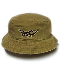 Black Salamander Sand Pigment Dyed Bucket Hat - BH1 - New