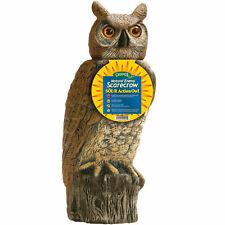 """Dalen Gardeneer 18"""" Solar SOL-R OWL Head Moves Scarecrow Decoy Pest SRHO-4"""