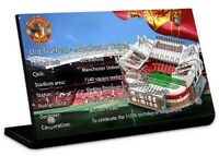 Display plaque for Lego Old Trafford -Manchester United 10272 (Top Rated Seller)