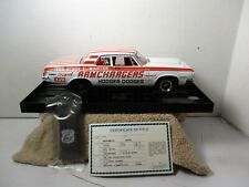 1/18 SCALE ~ HIGHWAY 61 ~ 1964 DODGE RAMCHARGERS