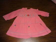 BOUTIQUE CATIMINI 12M 74 12 MONTHS PINK  FLORAL DRESS