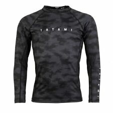 Tatami Standard Edition Black Digital Camo Long Sleeve Rash Guard BJJ No-Gi