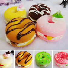 Jumbo Slow Rising Squishies Squishy Squeeze Toy Stress Reliever Aid Gift donut.