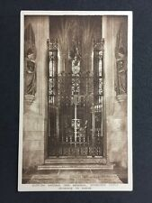Vintage Postcard: Military RP #M160: Scottish National War Memorial: Shrine