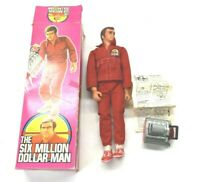 Kenner 1975 The Six Million Dollar Man Bionic Steve Austin Complete w Box Action