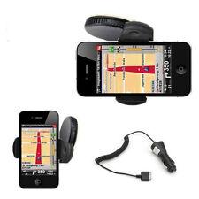 iPhone 4 4s 3G 3G Auto Halterung Halter KFZ Ladekabel Auto Ladegerät NEU LKW/PKW