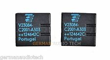 2x NEW TYCO TE V23084-C2001-A303 GENERAL MODULE RELAY GM3 GM5 BMW E46 Z4 X5 E39