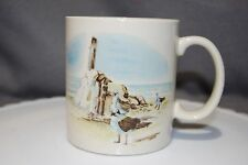 Otagiri, Sea Gulls on the Beach, Gibson Greeting Cards Mug, Ceramic Coffee Cup