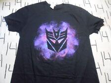 Medium- New Transformers Purple Galaxy Background Splash T- Shirt