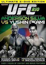 UFC 134  R10 SILVA vs OKAMI (2 Disc Set DVD )