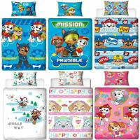 Official Paw Patrol Licensed Duvet Covers Single/Double Chase Skye Marshall