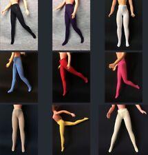 """ShimmyShim handmade fashion doll tights soft stretch elastic fit 11"""" doll 1:6"""