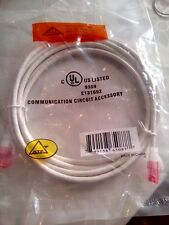 Allen Tel Products 10ft CAT6  AT1610 WHITE CORD ETL VERIFIED CABLE STR  NO-TAX