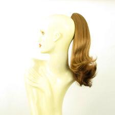 Hairpiece ponytail straight 15.75 dark blond copper 8/g27 peruk