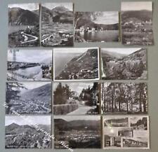 Lombardia. BRESCIA provincia. Tredici cartoline d'epoca lucide formato grande...