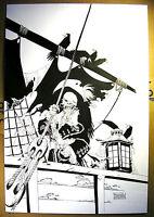 Eduardo RISSO  Ghost Pirates of the Caribbean - Original Art