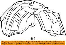 FORD OEM F-250 Super Duty-Front Fender Liner Splash Shield Right 4C3Z16054AA