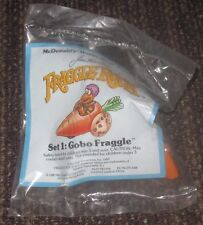 1987 Fraggle Rock McDonalds Happy Meal Toy - Gobo in Carrot Car