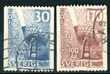SWEDEN SVERIGE OLD STAMPS 1958 - Ingot Steel - USED