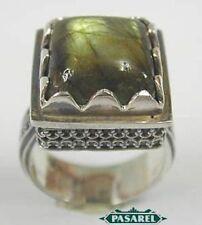 Sterling Silver Labradorite Designer Ring